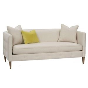"Rowe Claire  75"" Bench Cushion Sofa"