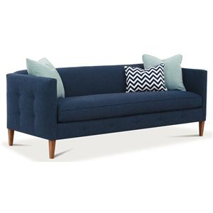 "Rowe Claire  86"" Bench Cushion Sofa"