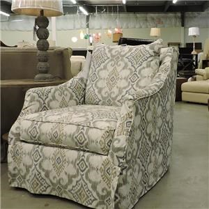Rowe    Upholstered Swivel Chair