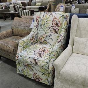 Rowe    Slip Swivel Chair