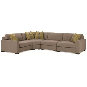 Rowe Dakota 4 Piece Sectional Sofa