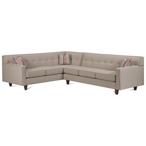Corner Sectional with Tufted Back