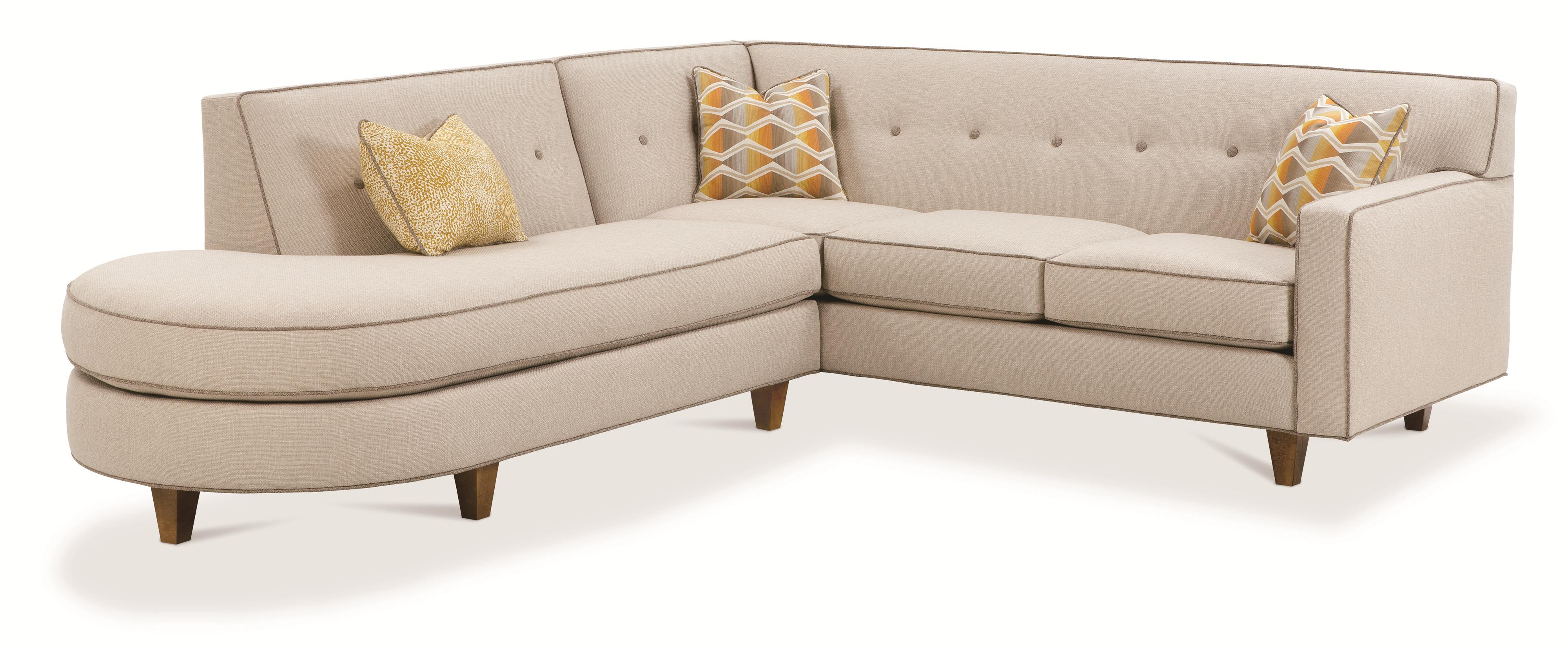Rowe Dorset Contemporary 2 Piece Sectional Sofa with Tufted Back - AHFA - Sofa Sectional Dealer Locator  sc 1 st  Furniture Dealer Locator - Find your furniture : rowe furniture sectional - Sectionals, Sofas & Couches