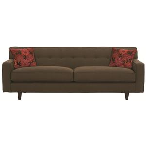 "Rowe Dorset 80"" Sofa with Wood Legs"