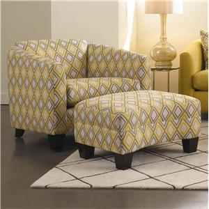 Rowe Easley Chair and Ottoman