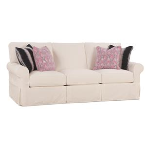 Rowe Easton Casual Sofa With Slipcover Reeds Furniture