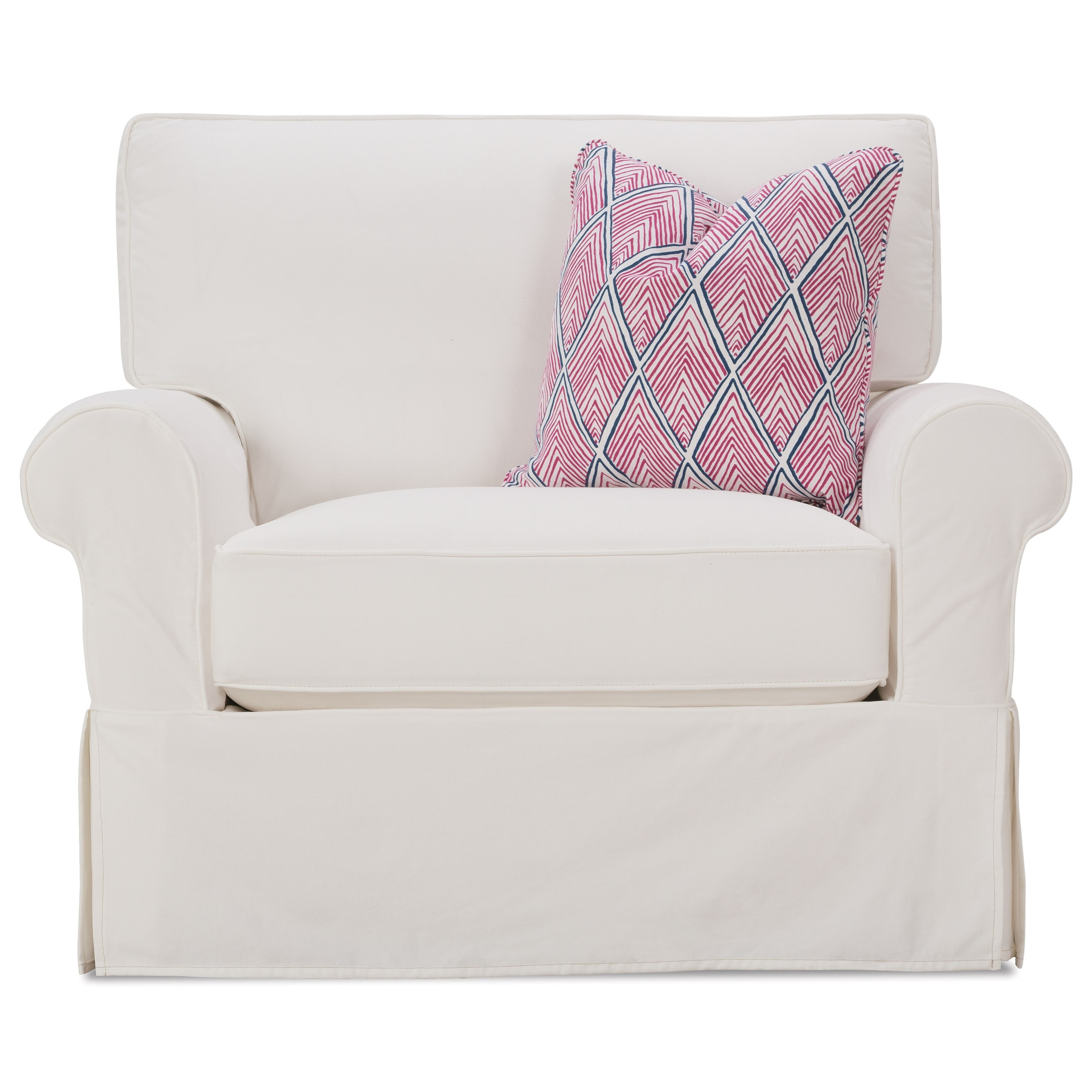 Rowe Easton P275 068 Casual Chair And A Half With