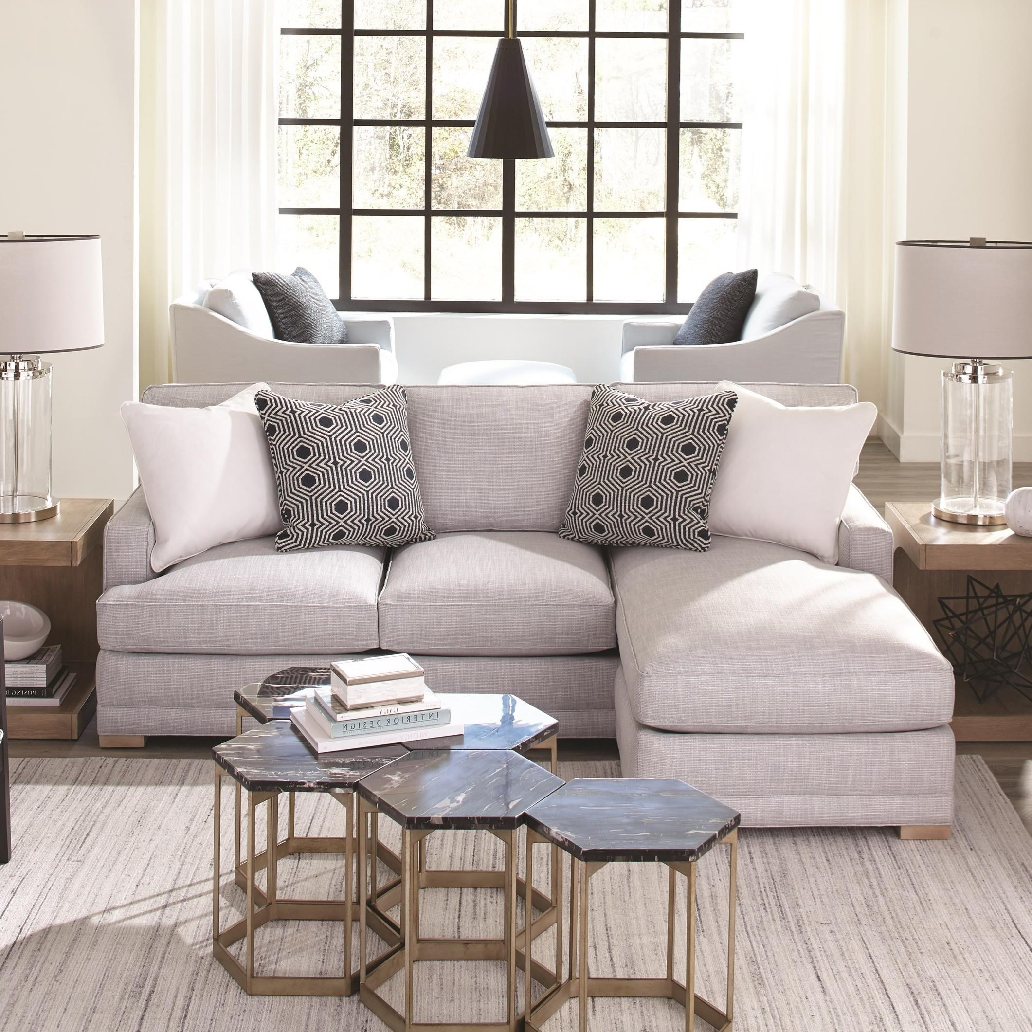 Grayson 2-Piece Sectional with LSE Chaise by Rowe at Baer's Furniture