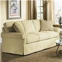 Rowe Hermitage Queen Bed Sofa Sleeper - 7889Q - Shown in Room Setting