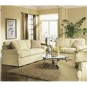 Rowe Hermitage Queen Bed Sofa Sleeper - 7889Q - Shown in Room Setting with Matching Loveseat
