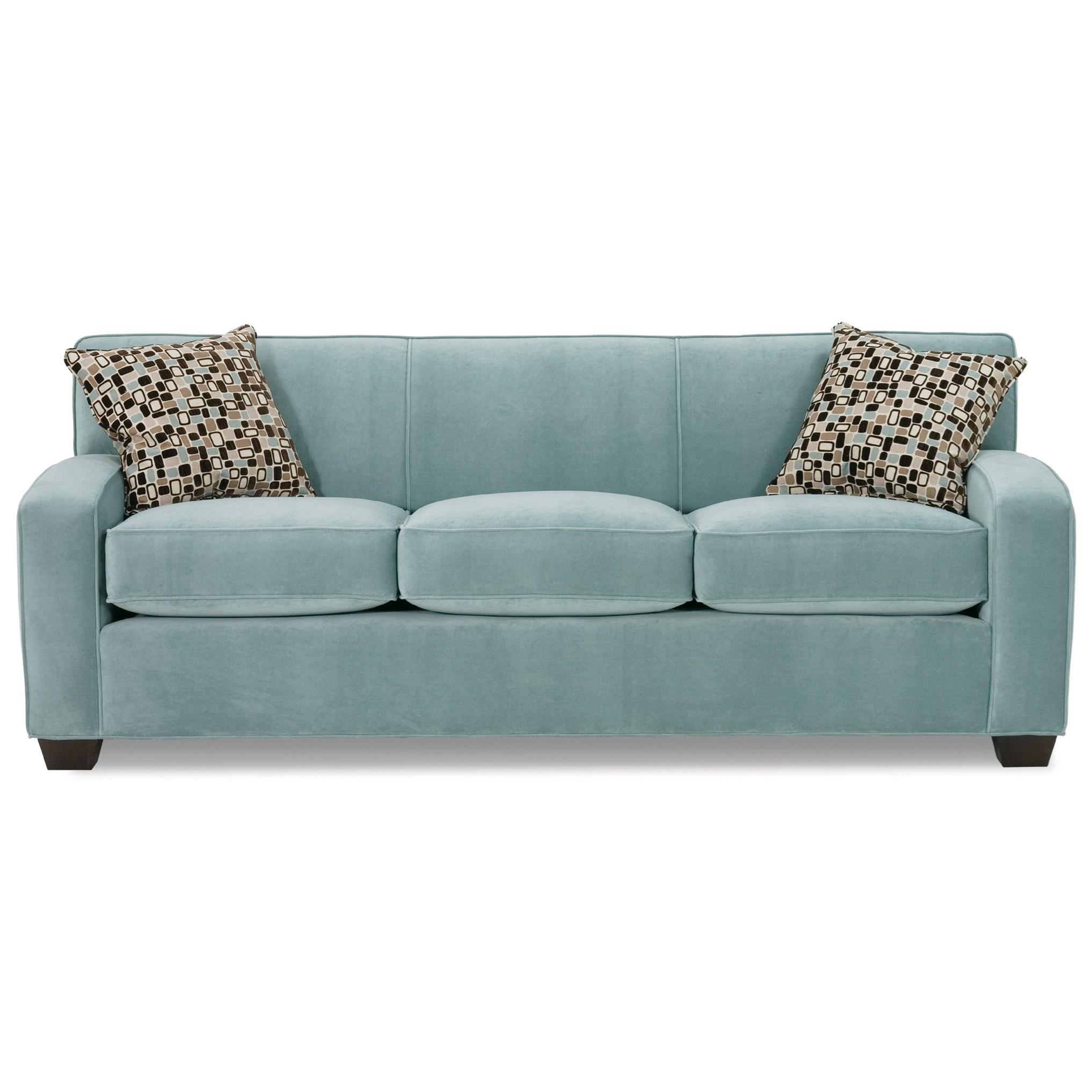Horizon Transitional Sofa by Rowe at Bullard Furniture
