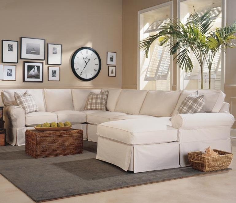 Rowe Masquerade 3 Piece Slipcover Sectional With Chaise Ahfa Sofa Dealer Locator