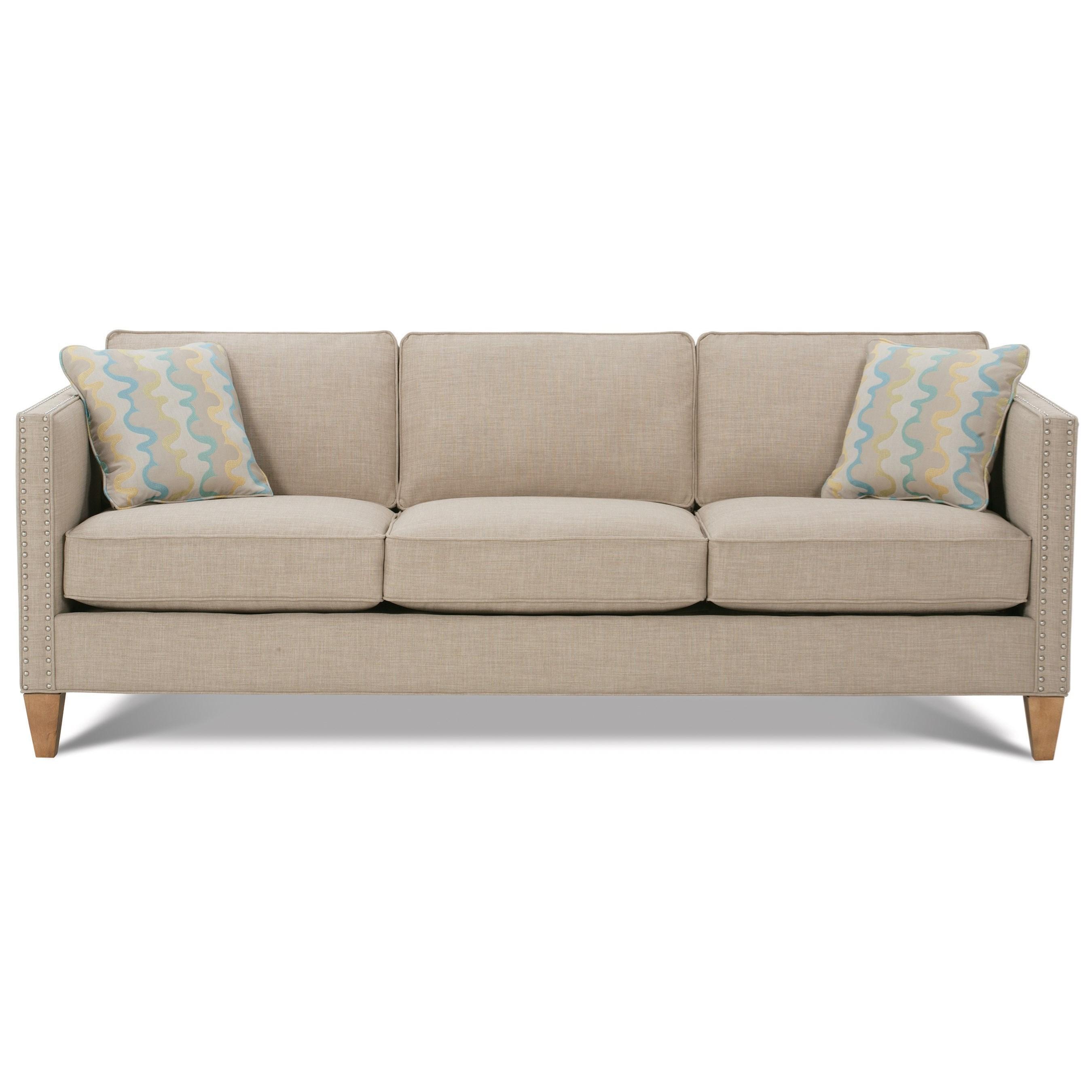 Mitchell - RXO <b>Custom</b> Sofa by Rowe at Baer's Furniture