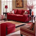 Rowe Monaco Mini Upholstered Sofa - Room Setting