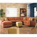 Rowe Monaco Modular Sectional Sofa - Room Setting