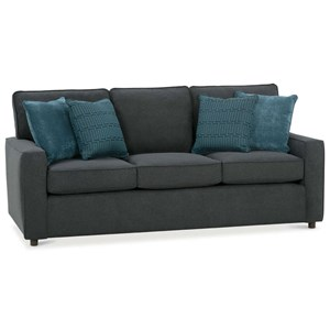 Rowe Monaco Transitional Sofa Sleeper