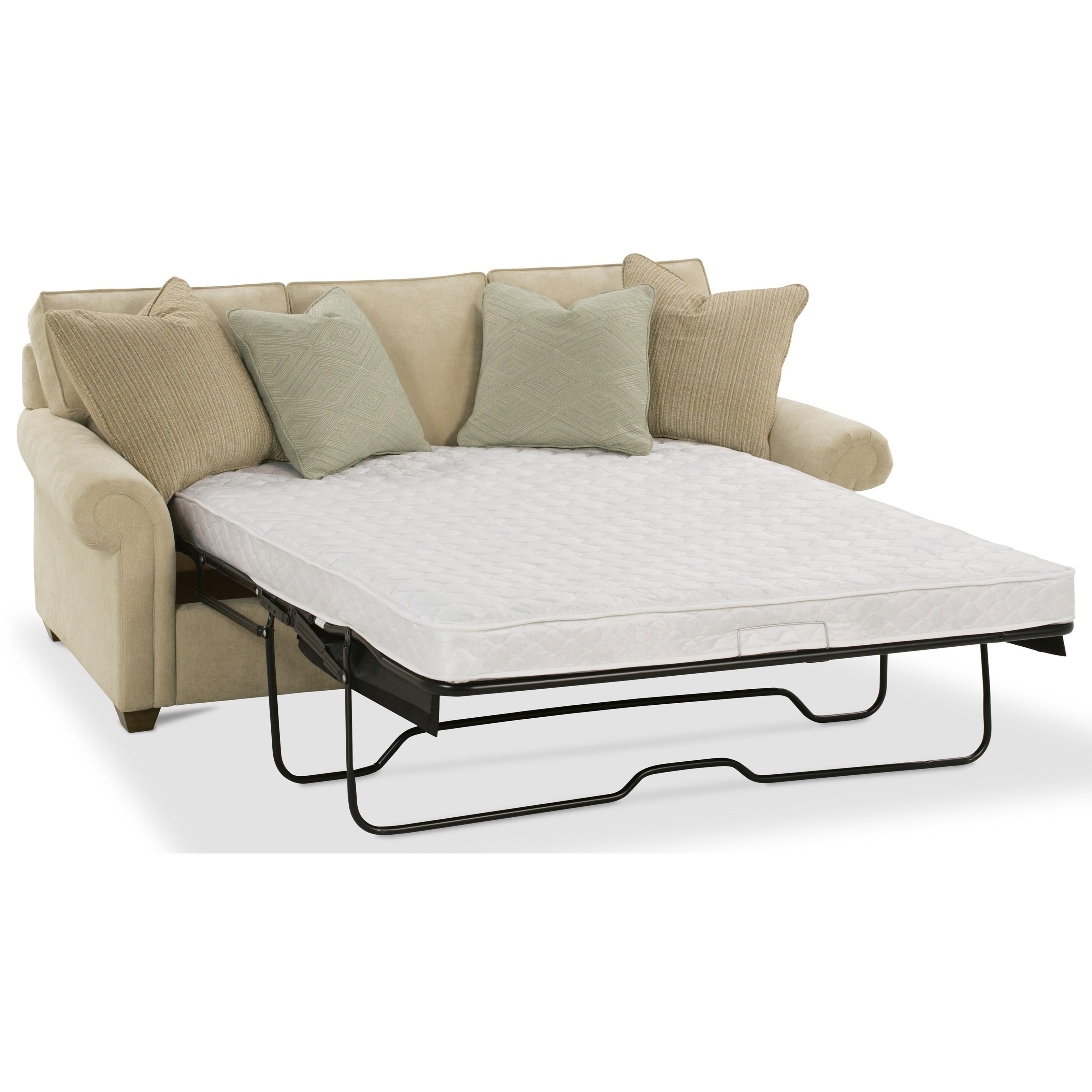 Rowe Morgan Traditional Queen Sleeper Sofa Sprintz