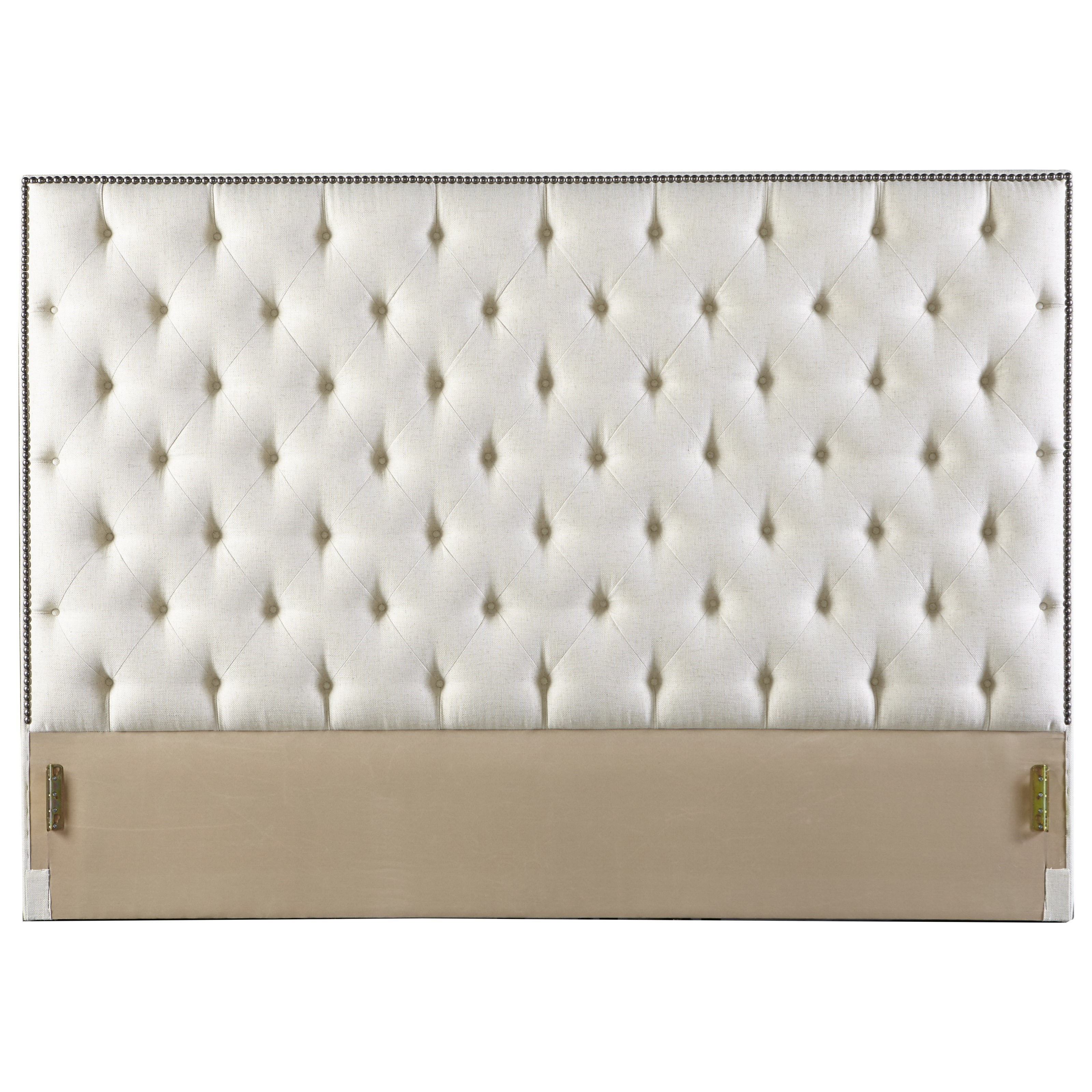 Rowe My Style Beds Hamilton 60 King Headboard With Tufting And Nailhead Trim Belfort Furniture Headboards