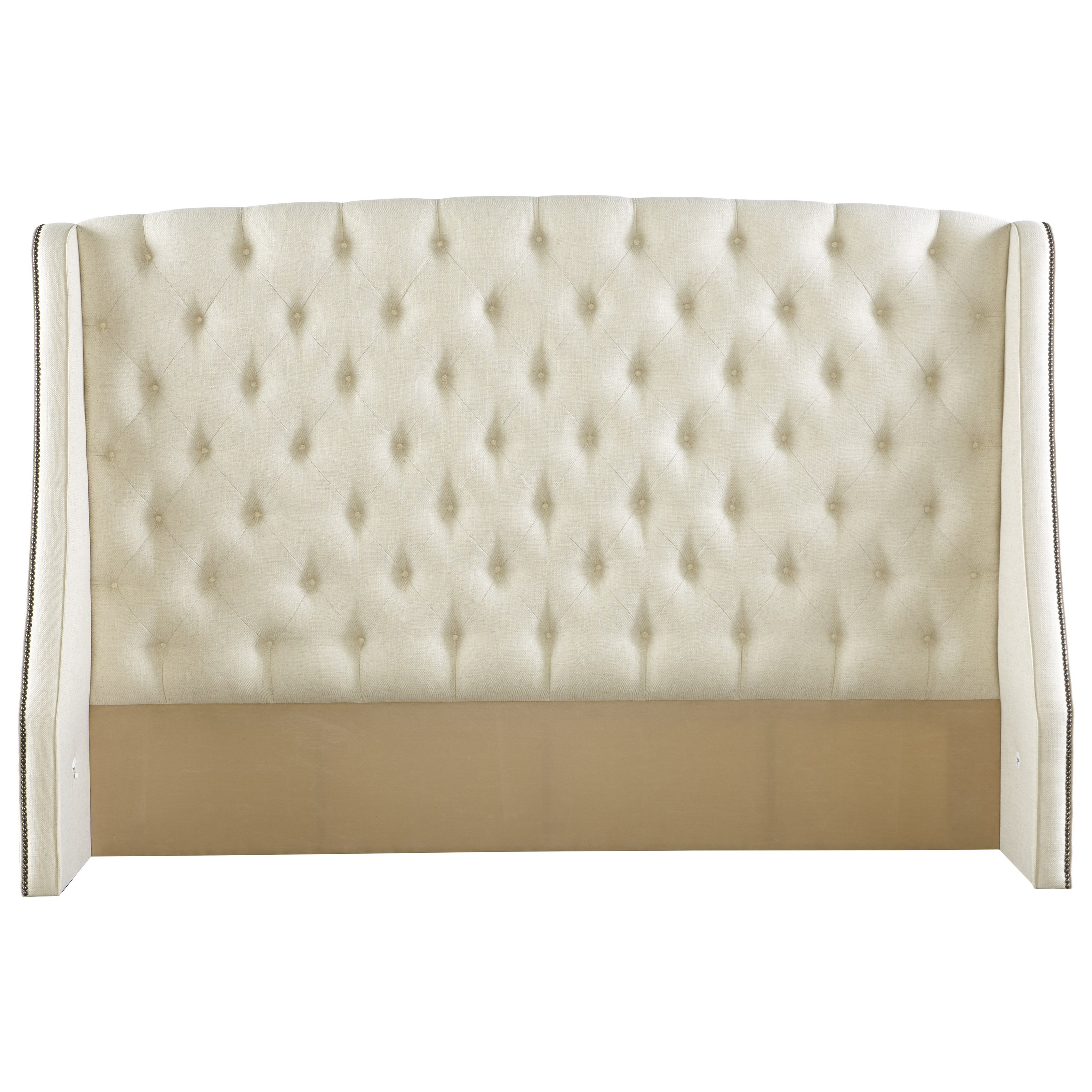 Rowe My Style Beds Kirkwood 54 King Headboard With Tufting Belfort Furniture Headboards