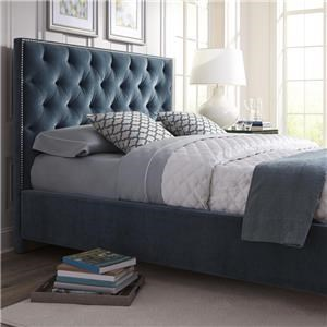"Rowe My Style - Beds Hamilton 54"" Queen Upholstered Bed"