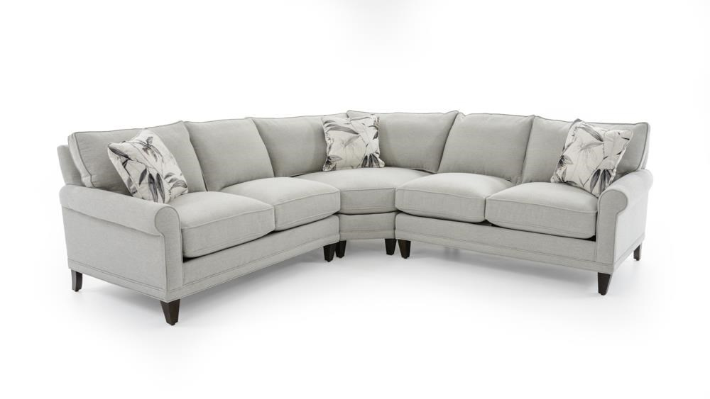 Rowe My Style II Customizable Sectional Sofa - Item Number: AR200-B-114+115-N16144-49