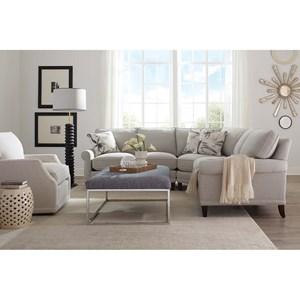 Rowe My Style II Customizable Sectional Sofa