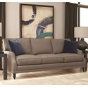 Rowe My Style I & II Transitional Sofa Turned Legs - Item Number: AS200-B-002-12191-10