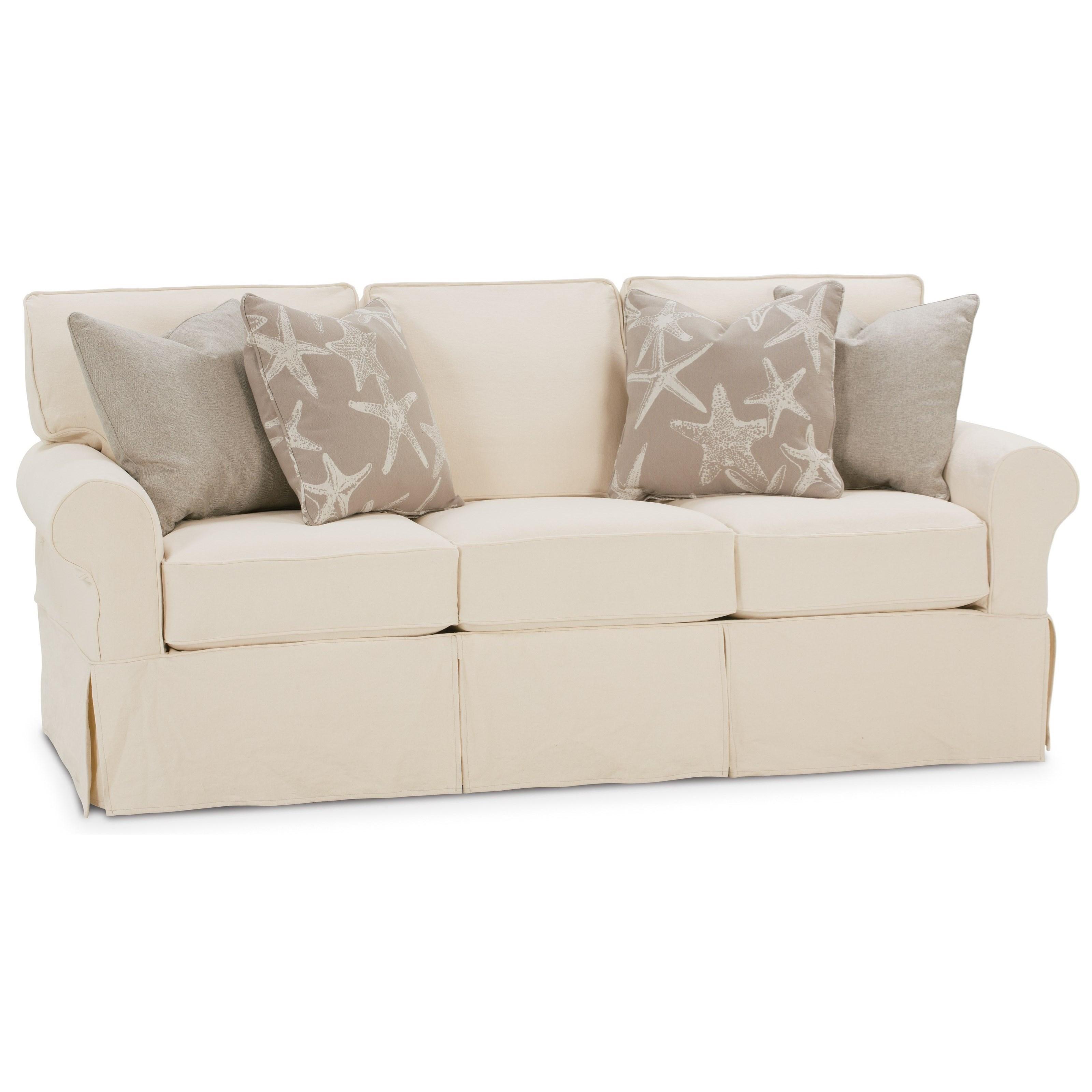 Rowe Nantucket 84 Quot 3 Cushion Slipcover Sofa Belfort