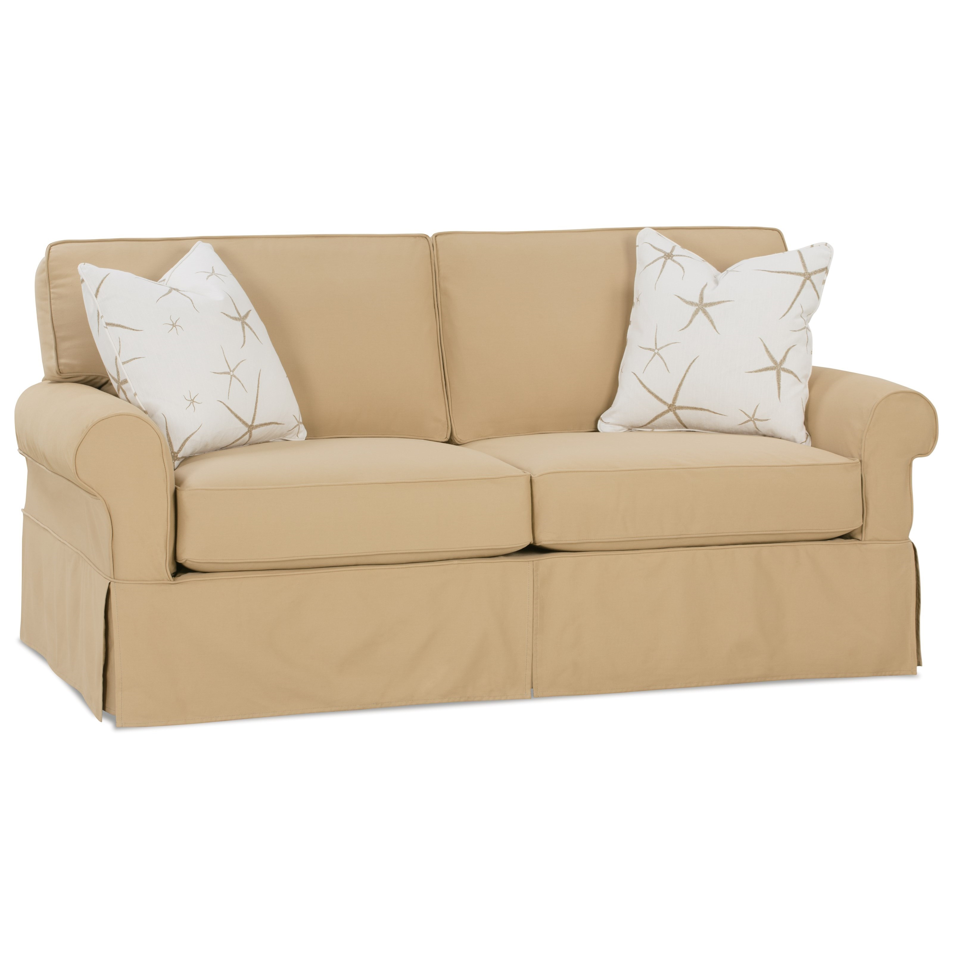Two Cushion Slipcover Sofa