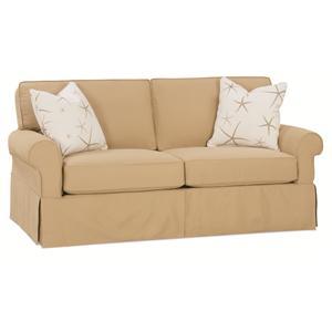 "Rowe Nantucket  78"" Two Cushion Slipcover Sofa"