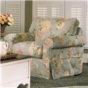 Rowe Nantucket  Skirted Upholstered Chair - Fabric Shown is No Longer Available
