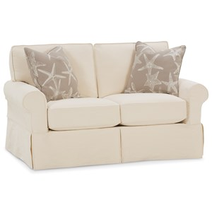 Rowe Nantucket  Transitional Loveseat