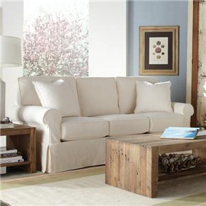 "Rowe Nantucket  84"" Three Cushion Sleeper Sofa"
