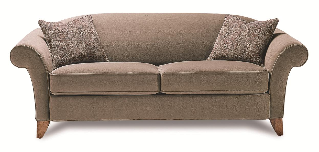 Item Shown May Not Represent Exact Features Indicated Rowe Notting Hill Transitional Camelback Sleeper Sofa