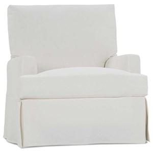 Large Swivel Glider Chair