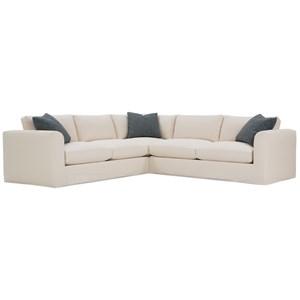 Slipcovered Sectional Sofa