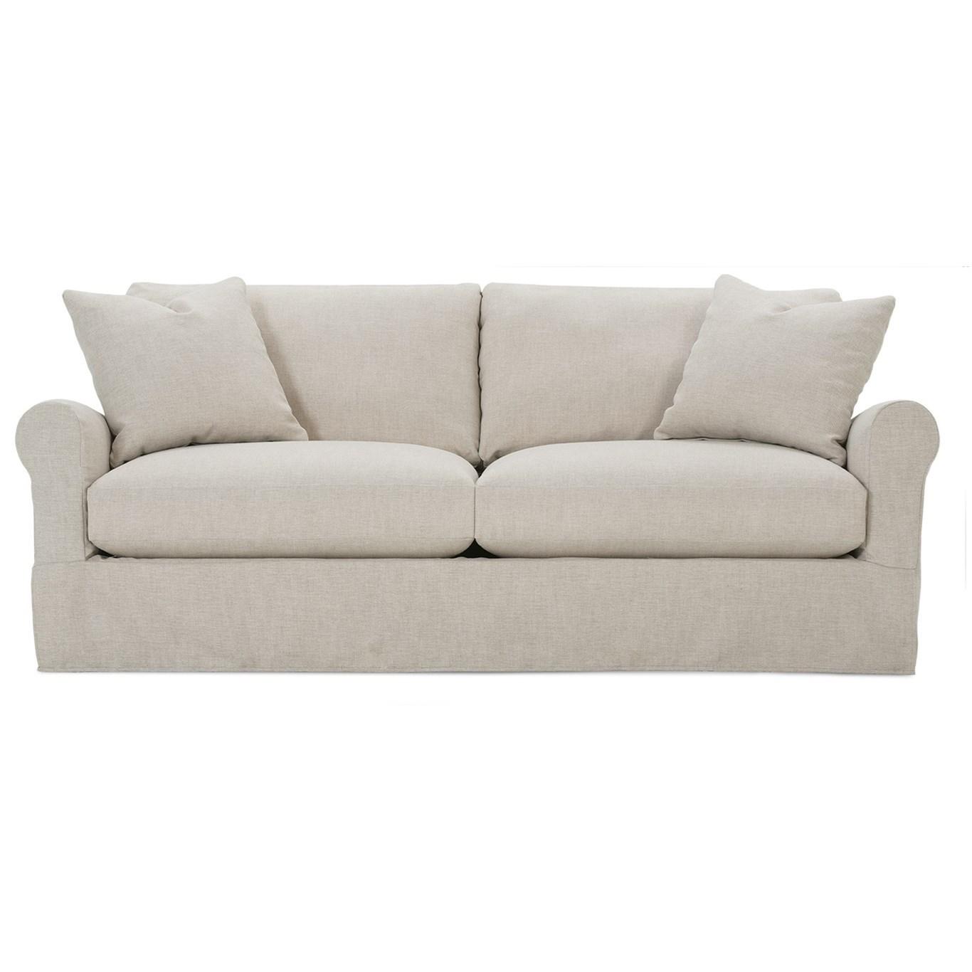 Aberdeen Slipcovered Sofa by Rowe at Bullard Furniture