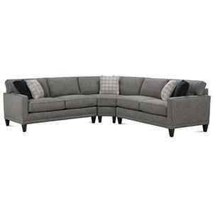 Rowe Townsend Three Piece Sectional Sofa