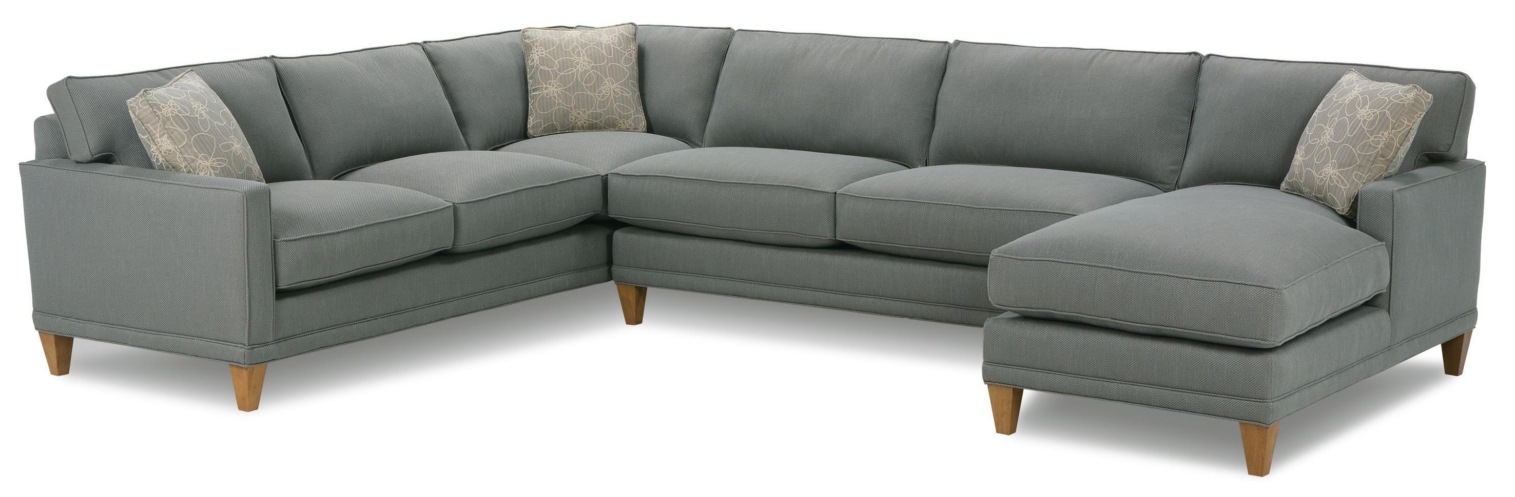 Rowe Townsend Casual Sectional Sofa Group Hudson 39 S Furniture Sofa Sectional