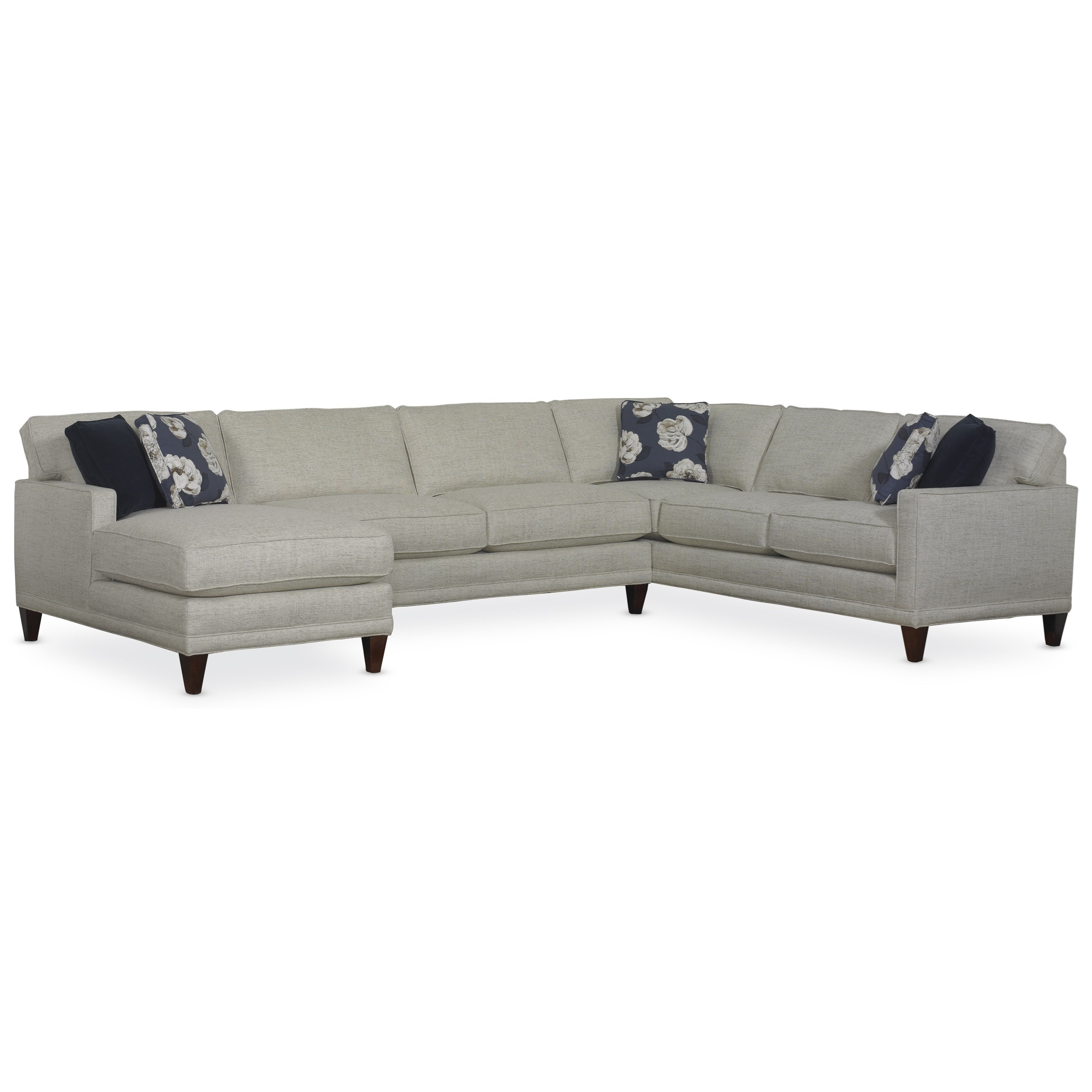 Rowe Townsend Contemporary Sofa Sectional Group Belfort