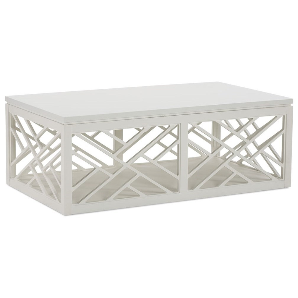 Rowe Tracery Cottage Cocktail Table With Removable Top Lindy S Furniture Company Cocktail Coffee Tables