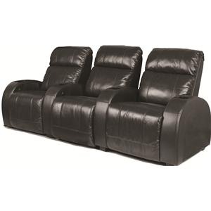 RowOne by Jasper Cabinet Marquis Home Entertainment Seating 3-Piece Theater Seating