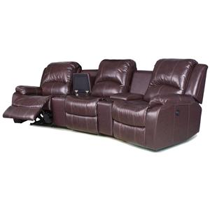 RowOne by Jasper Cabinet Park Avenue  Three Seat Sectional