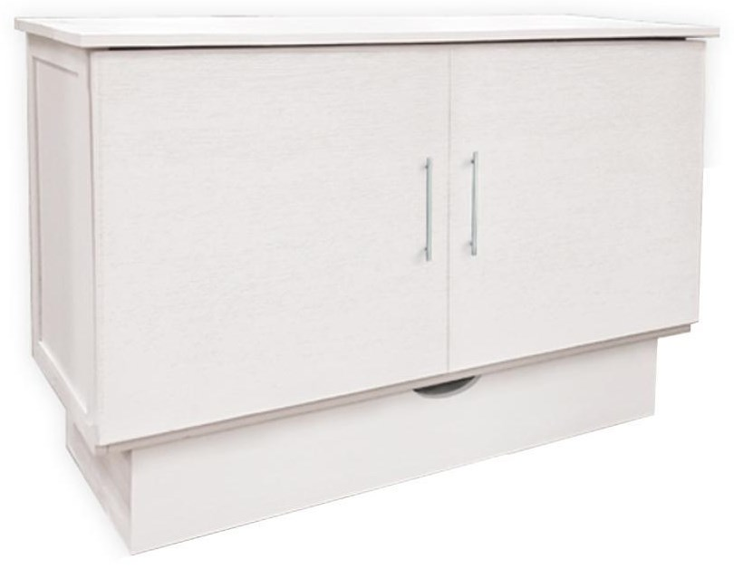 Madrid Queen Cabinet Bed at Bennett's Furniture and Mattresses
