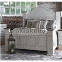 Rustic Imports GRANDE Queen Mansion Bed - Item Number: CAM400QHBMO+FB+R+SL