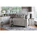 Rustic Imports GRANDE Queen Bed, Dresser, Mirror and Nighstand - Item Number: Queen B+D+M+NS
