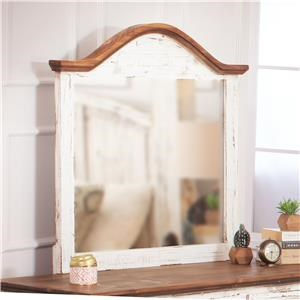 Rustic Imports Rustic Mansion Solid Pine Mirror