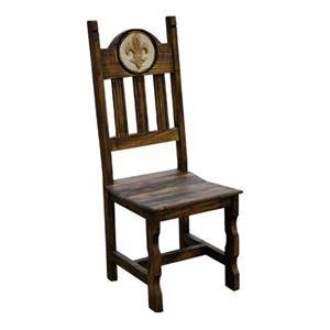 Rustic Specialists Antique Orleans Side Stone Chair