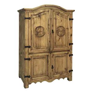 Rustic Specialists Texas Star Texas Star Armoire