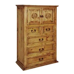 Rustic Specialists Texas Star Texas Star Chest